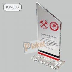 KRİSTAL PLAKET - KP-003