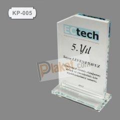 Kristal Plaket KP-005