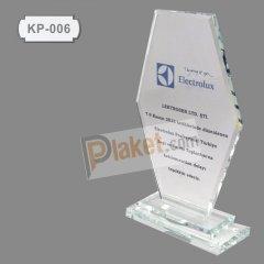 KRİSTAL PLAKET - KP-006
