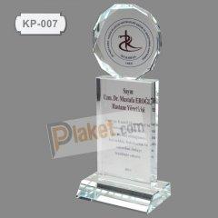 KRİSTAL PLAKET - KP-007