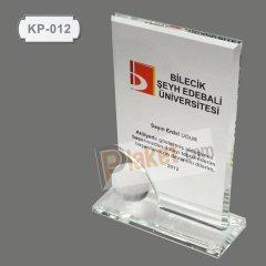 KRİSTAL PLAKET - KP-012