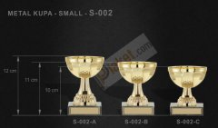 METAL KUPA (Small)  S-002
